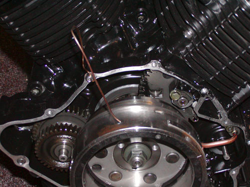 starter clutch replacement Yamaha Roadstar Engine Diagram